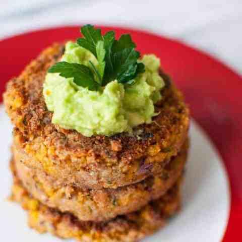 Clean eating falafel burger recipe