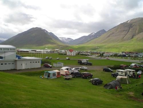 Tjaldsvæðið í Ólafsfirði