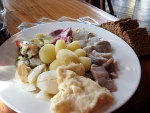 Síldarhlaðborð Rauðku