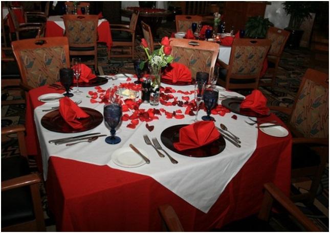Romantik Yemek Masas Nasl Hazrlanr Hediye Tavsiyeleri
