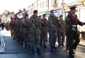 Parade to St Augustine's Church