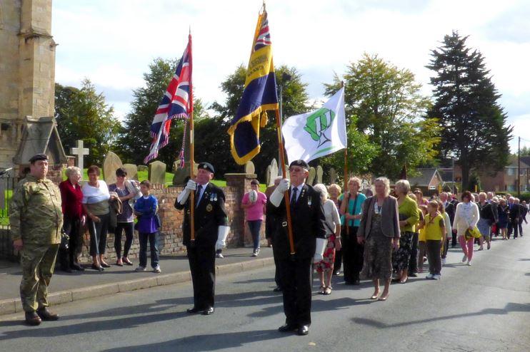 British Legion and WI Civic Parade 2014