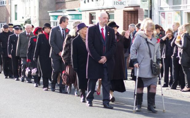 Hedon Councillors and guests - Jayne Arksey