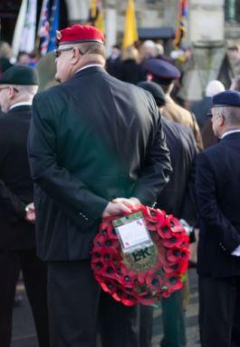 Remembrance wreath - Jayne Arksey
