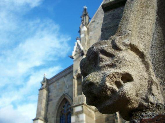 Katy Miller gargoyle close up Feb 2011