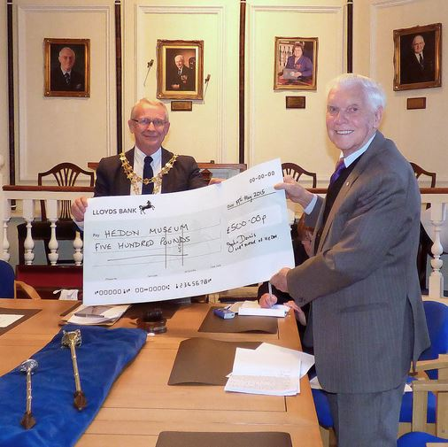Hedon Museum Society £500