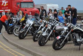 Bikes in Withernsea...