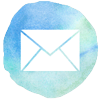 watercolor styled email icon