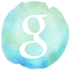watercolor styled google icon