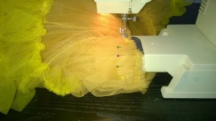 Making of a tulle Under skirt