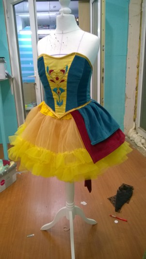 Making of Snow White cosplay
