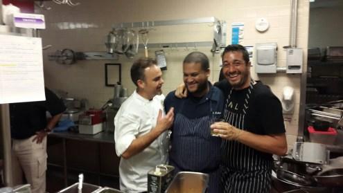 chefs drinking