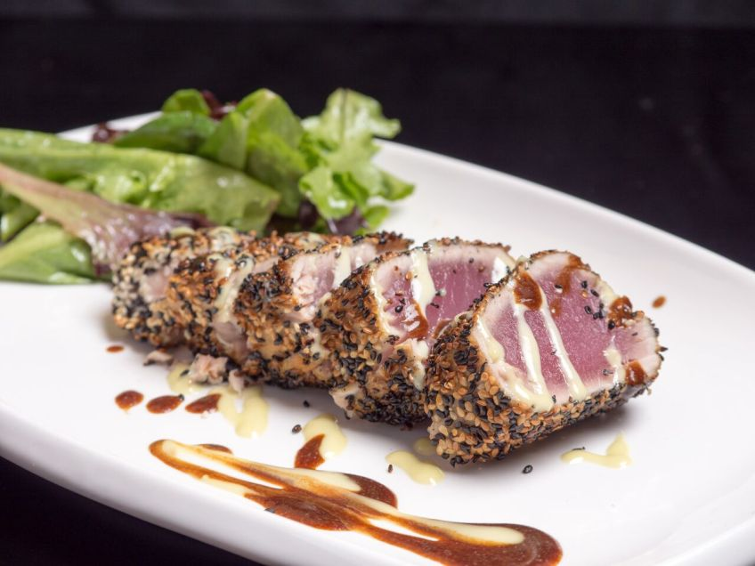 Ben and Jack's Sesame Crusted Tuna
