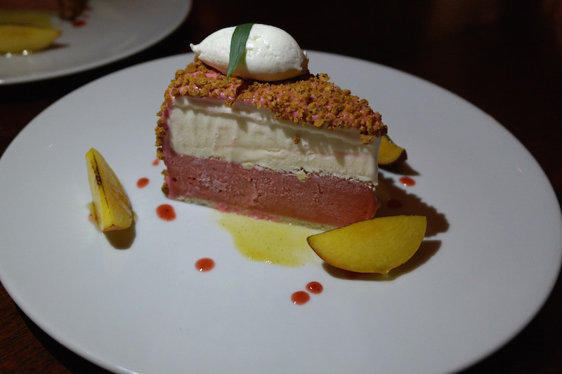 The Dutch Miami -Strawberry-Almond-Ice-cream-cake