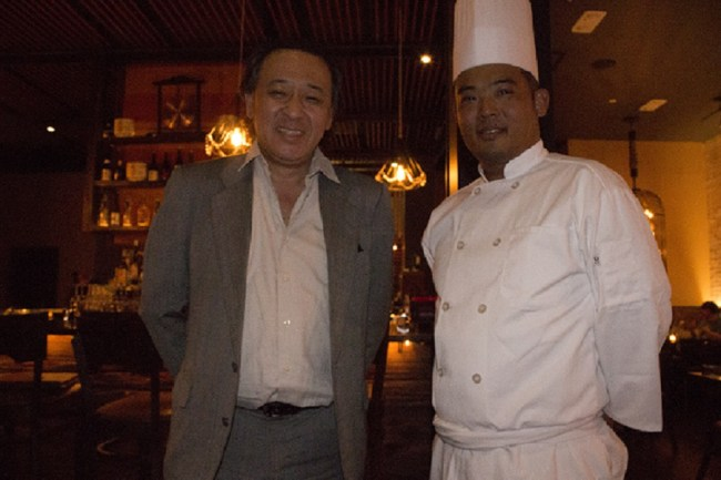 KOA Chef Yuji Wakiya and Jun Nakanishi