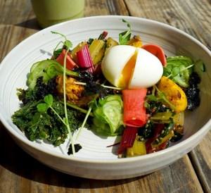 Stonefruit espresso + Kitchen Monk Bowl