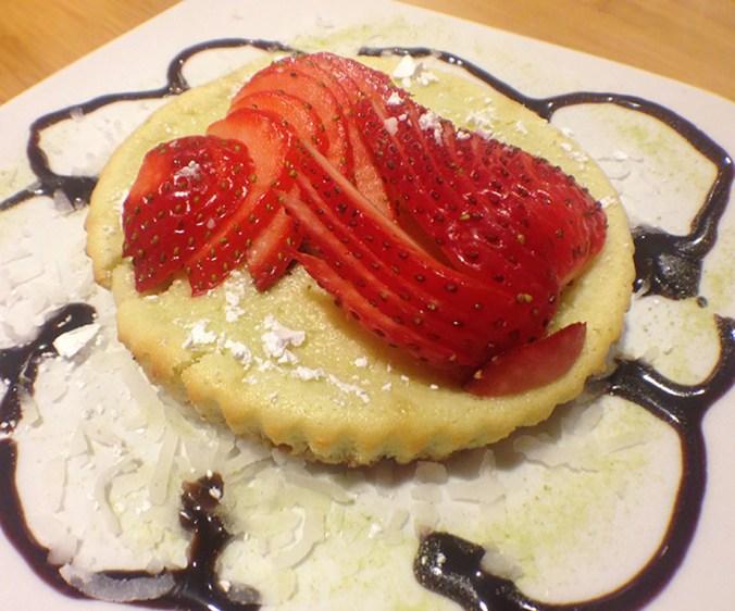 Kokai Sushi Lounge Review Green Tea Cheescake