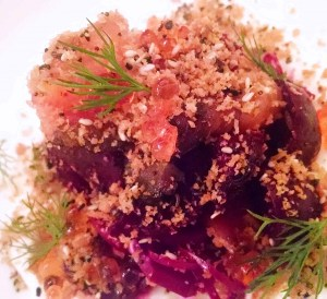 Pair Wine and Cheese Beets