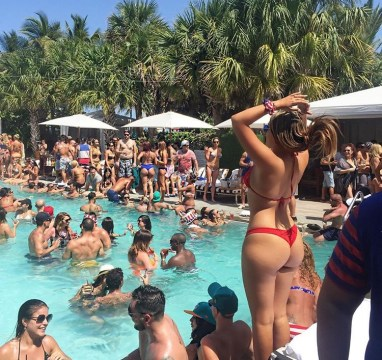 concierge miami pool party