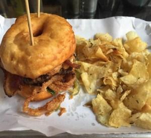 Gordough's Public House El Camino Burger Gourdoughs