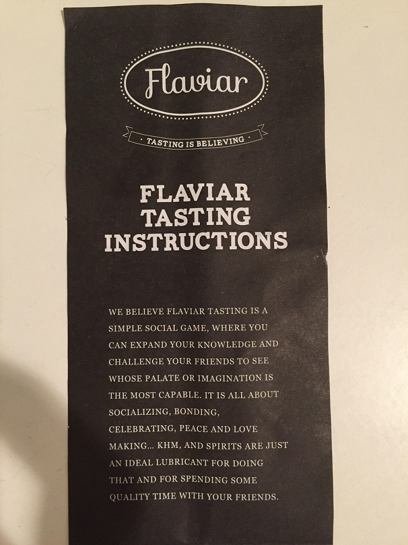 Flaviar Instructions