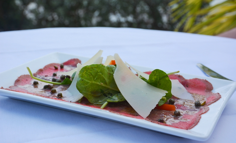 Tuscan Way - Carpaccio di Manzo- courtesy of Tuscan Way