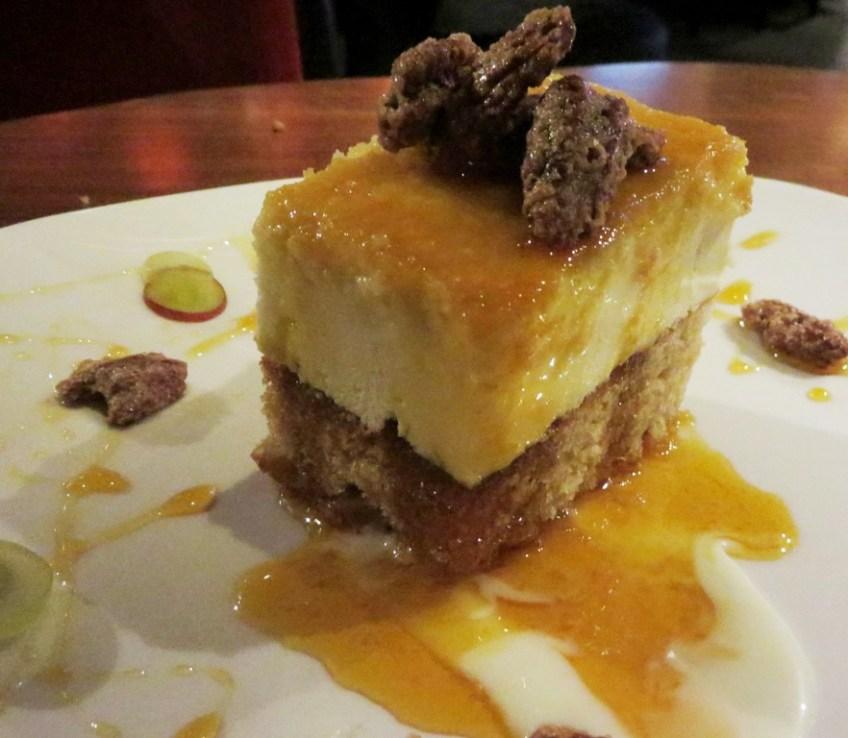 Tuck Room North Miami _Caramel Upside Down Cheesecake