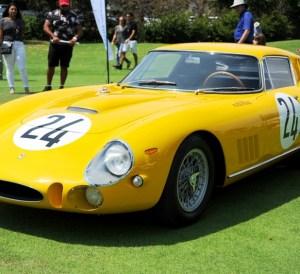 Miami Beach Concours - Ferrari car