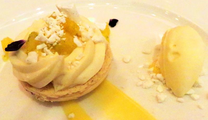 db Bistro Miami - SoBeWFF Dinner - pineapple curd