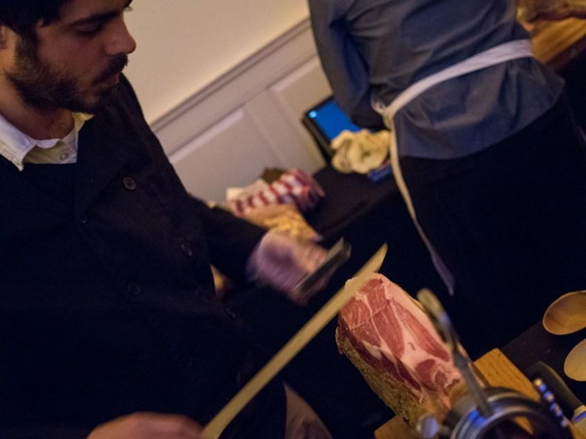 Grand tasting NJWFF d'artagnan mangelico ham