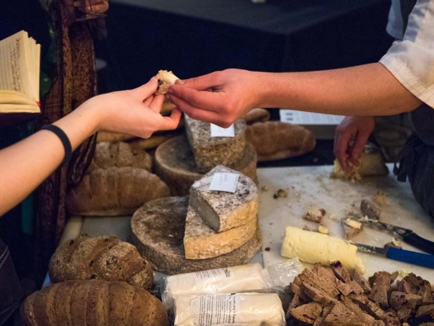Grand Tasting NJWFF Bobolink Dairy Cheeses