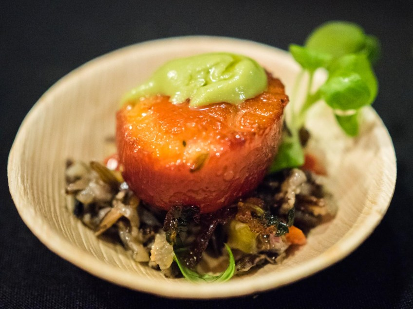 Grand tasting NJWFF alice's beet scallop