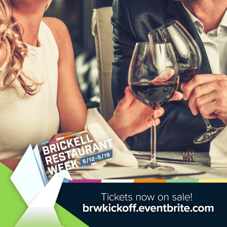 Brickell Restaurant Week - Tickets Now On Sale Final