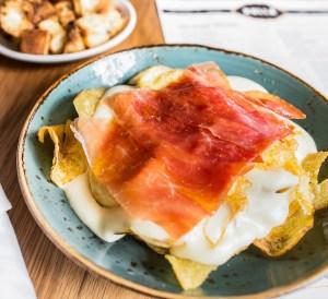 Huevos Bulla dish at Bulla Doral