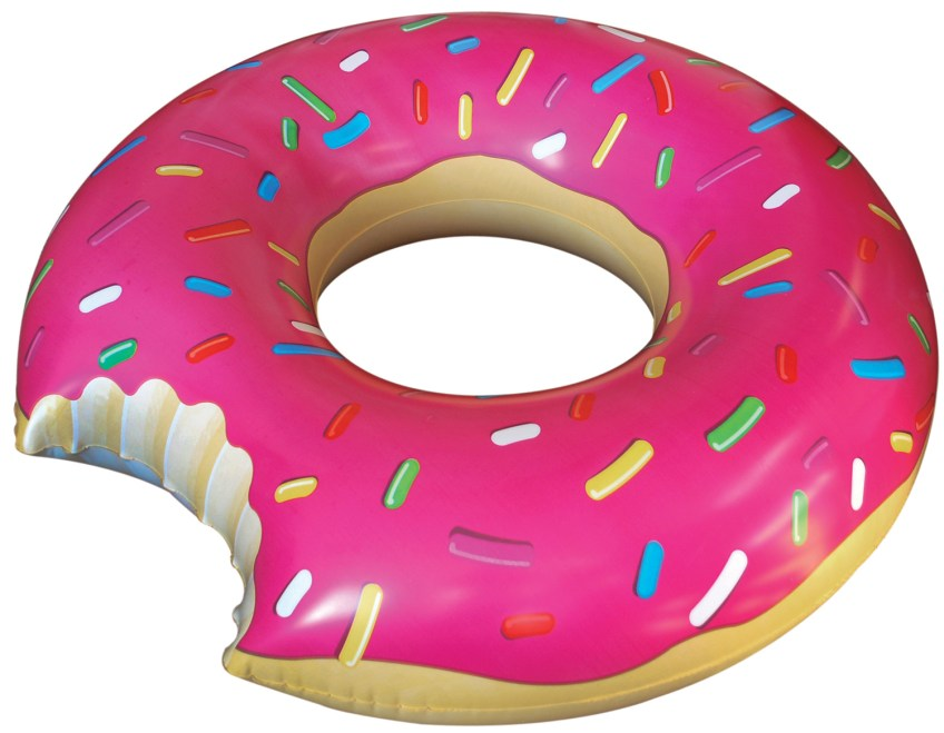 Father's Day Gifts BigMouth Inc's No Calorie Donut Float