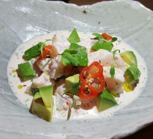 Ceviche Apaltado at 1111 peruvian bistro