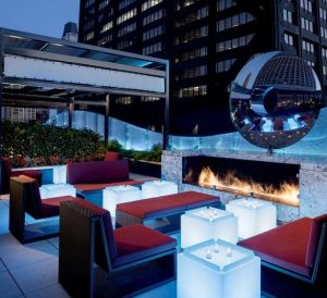Ritz Carlton Chicago THE dec Rooftop Bar and Lounge Rooftop
