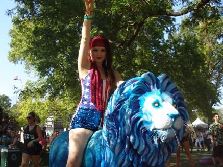 EZOO 2016 Lion Girl