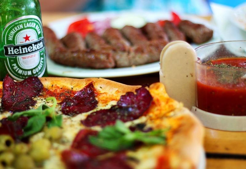 Food Pairings Beer and Pizza