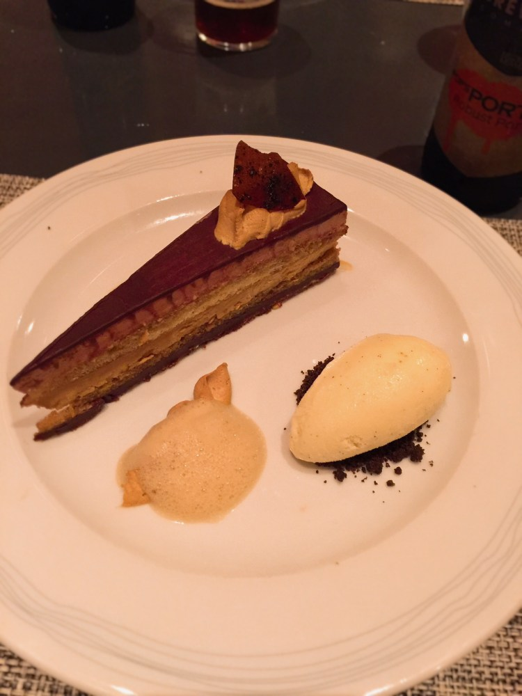 DB Bistro Moderne - Chocolate Opera Cake