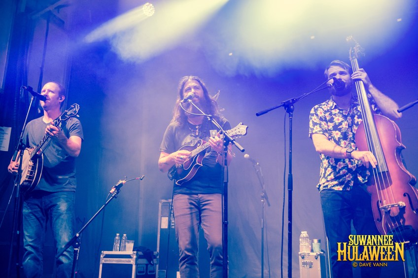 Greensky Bluegrass - Hulaween Music Festival 10/27/16 - Spirit of Suwannee Music Park - Live Oak FL - Photo © Dave Vann 2016