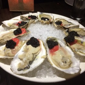 River Yatch Club Oysters and Caviar