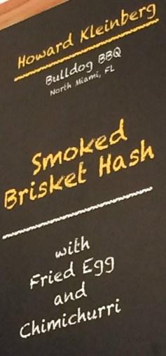 menu: brisket hash