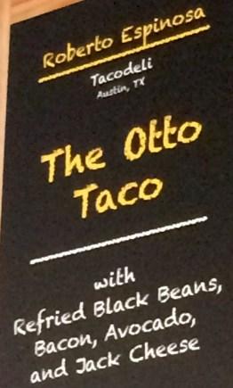menu: otto tacho
