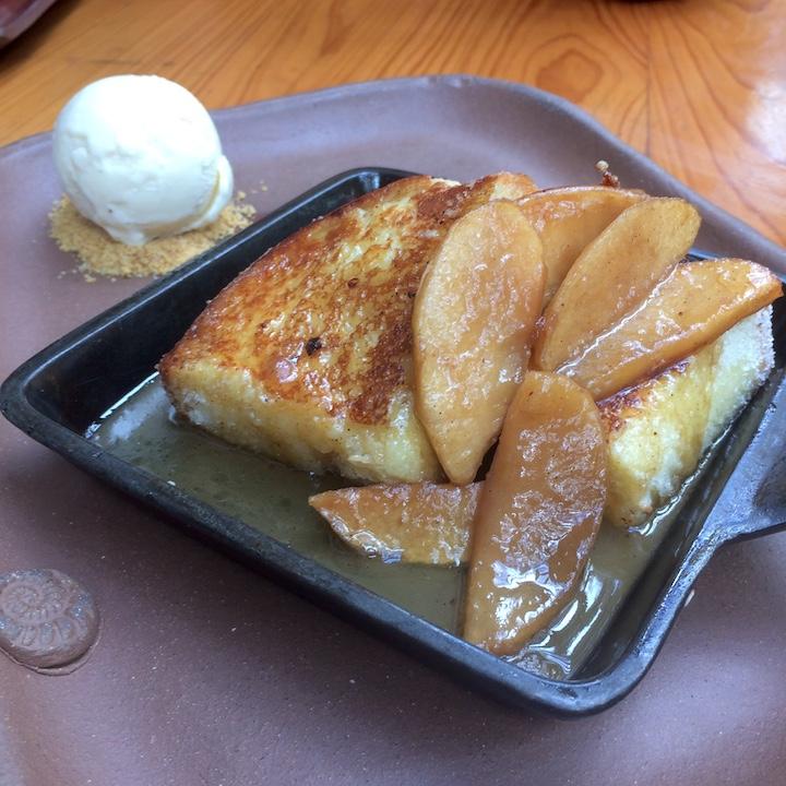 Sugarcane torrejas apples