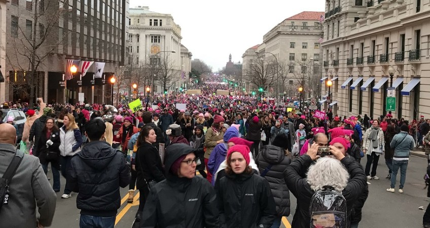 Women's March Roar of Crowd