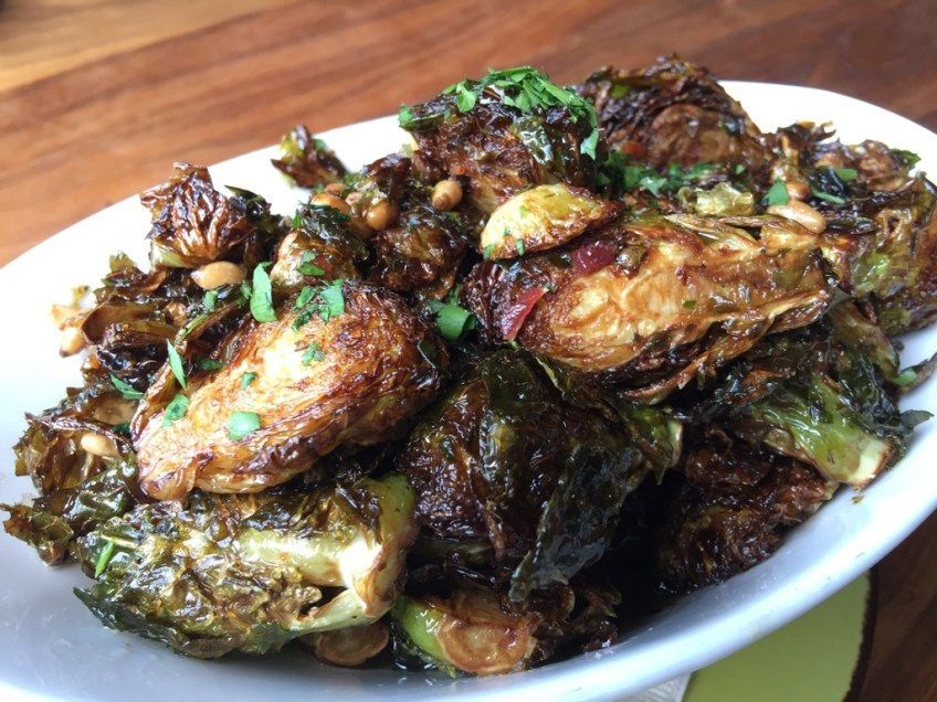 JFAT Charred Brussels Sprouts