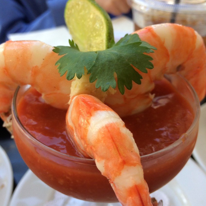South Pointe Tavern shrimp cocktail