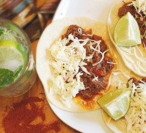 Moore's Marinades and Sauces Tacos