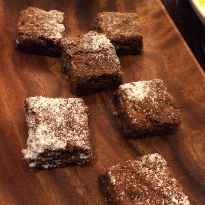 BLT Petit fours Brownies